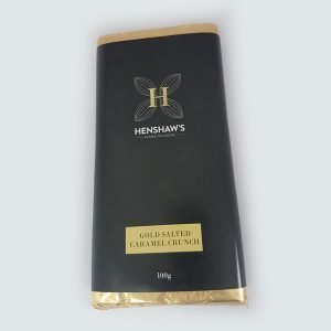 Henshaw's House Of Cocoa Gold Salted Caramel Crunch Bar